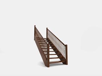 schody Valašsko, kvalitní dřevěné schody